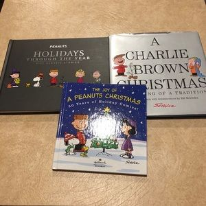 Peanuts/Schultz Charlie Brown books collection